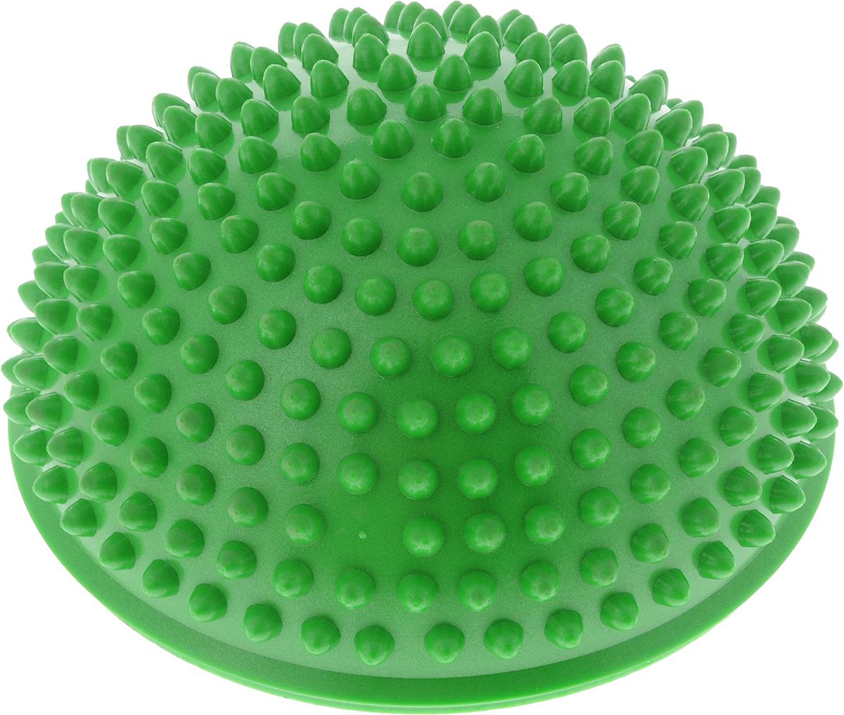 """Полусфера балансировочная """"Bradex"""", цвет: зеленый, 16,5 х 16,5 х 9 см"""