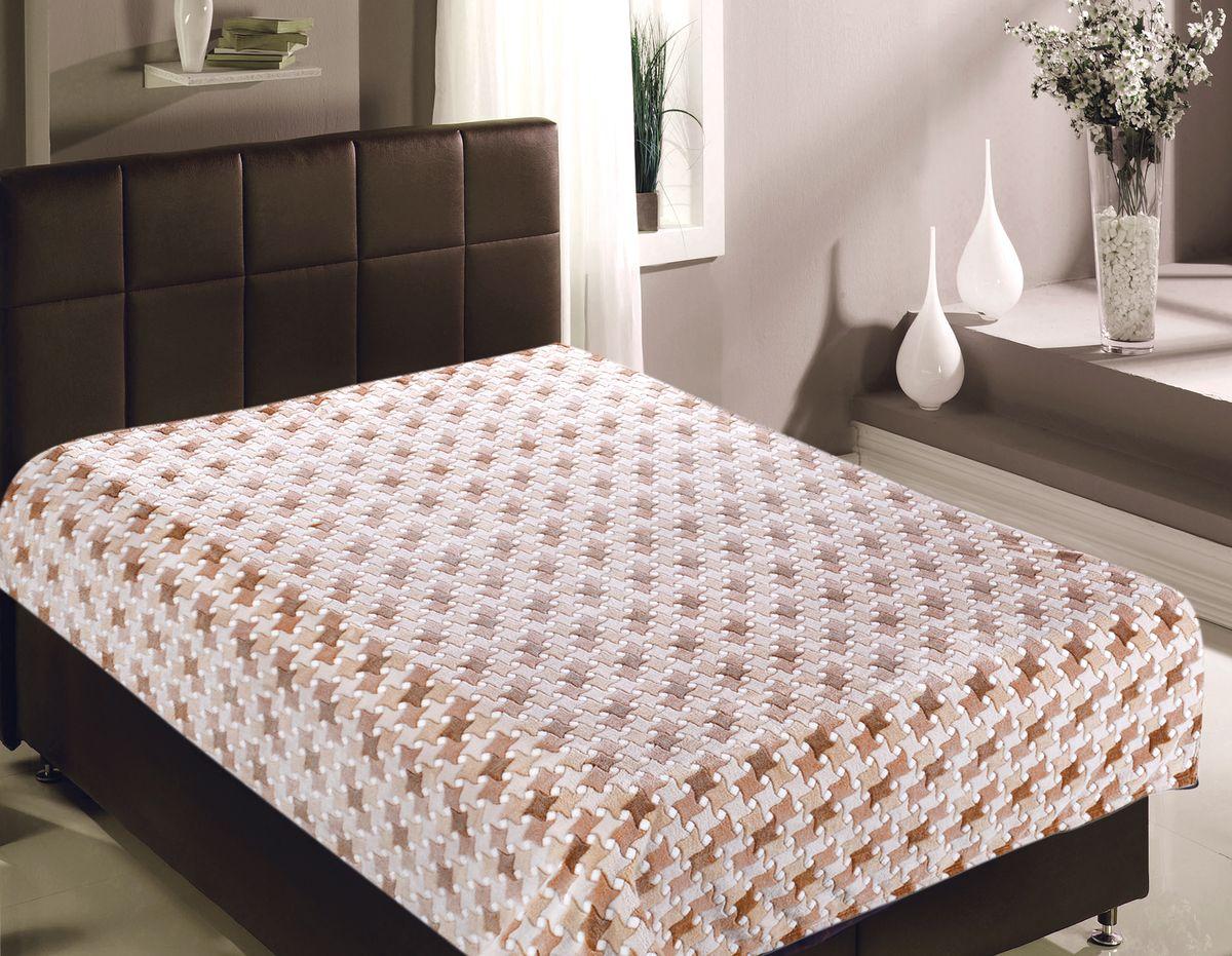 Плед Buenas Noches Плитка, 150 х 200 см. 8142381423Плед Buenas Noches - идеальное решение для вашего интерьера! Станьте дизайнером и создайте свой стиль! Плед выполнен из 100% полиэстера - уникальная ткань, обладающая рядом неоспоримых достоинств. Это материал синтетического происхождения из полиэфирных волокон. Внешне такая ткань схожа с шерстью, а по свойствам близка к хлопку. Изделия из полиэстера - не мнутся и легко стираются. После стирки очень быстро высыхают. Прочная ткань, за время использования не растягивается и не садится. Высокое качество, а главное - стиль пледа будут радовать вас и вашу семью!