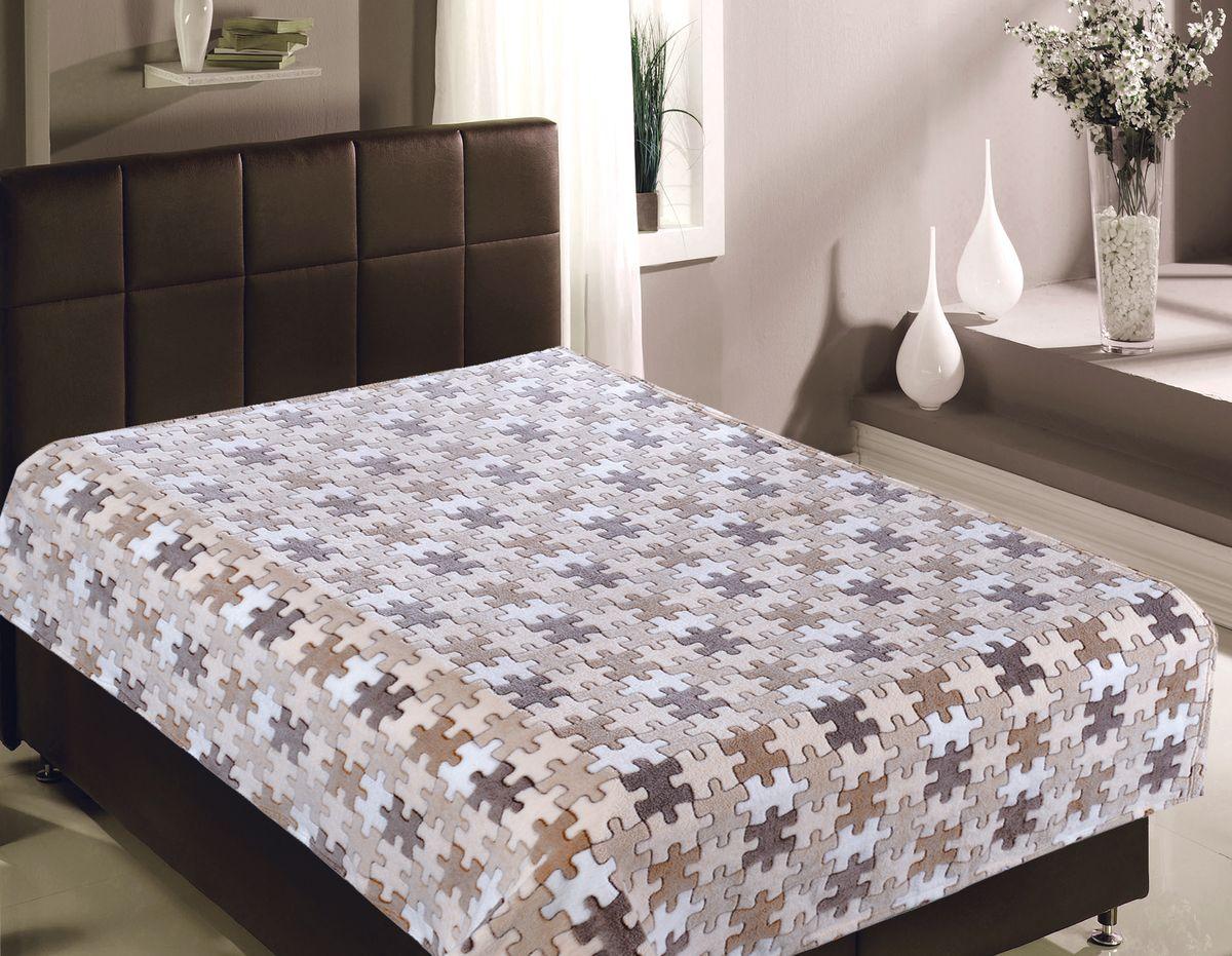 Плед Buenas Noches Пазлы, 150 х 200 см. 8142581425Плед Buenas Noches - идеальное решение для вашего интерьера! Станьте дизайнером и создайте свой стиль! Плед выполнен из 100% полиэстера - уникальная ткань, обладающая рядом неоспоримых достоинств. Это материал синтетического происхождения из полиэфирных волокон. Внешне такая ткань схожа с шерстью, а по свойствам близка к хлопку. Изделия из полиэстера - не мнутся и легко стираются. После стирки очень быстро высыхают. Прочная ткань, за время использования не растягивается и не садится. Высокое качество, а главное - стиль пледа будут радовать вас и вашу семью!