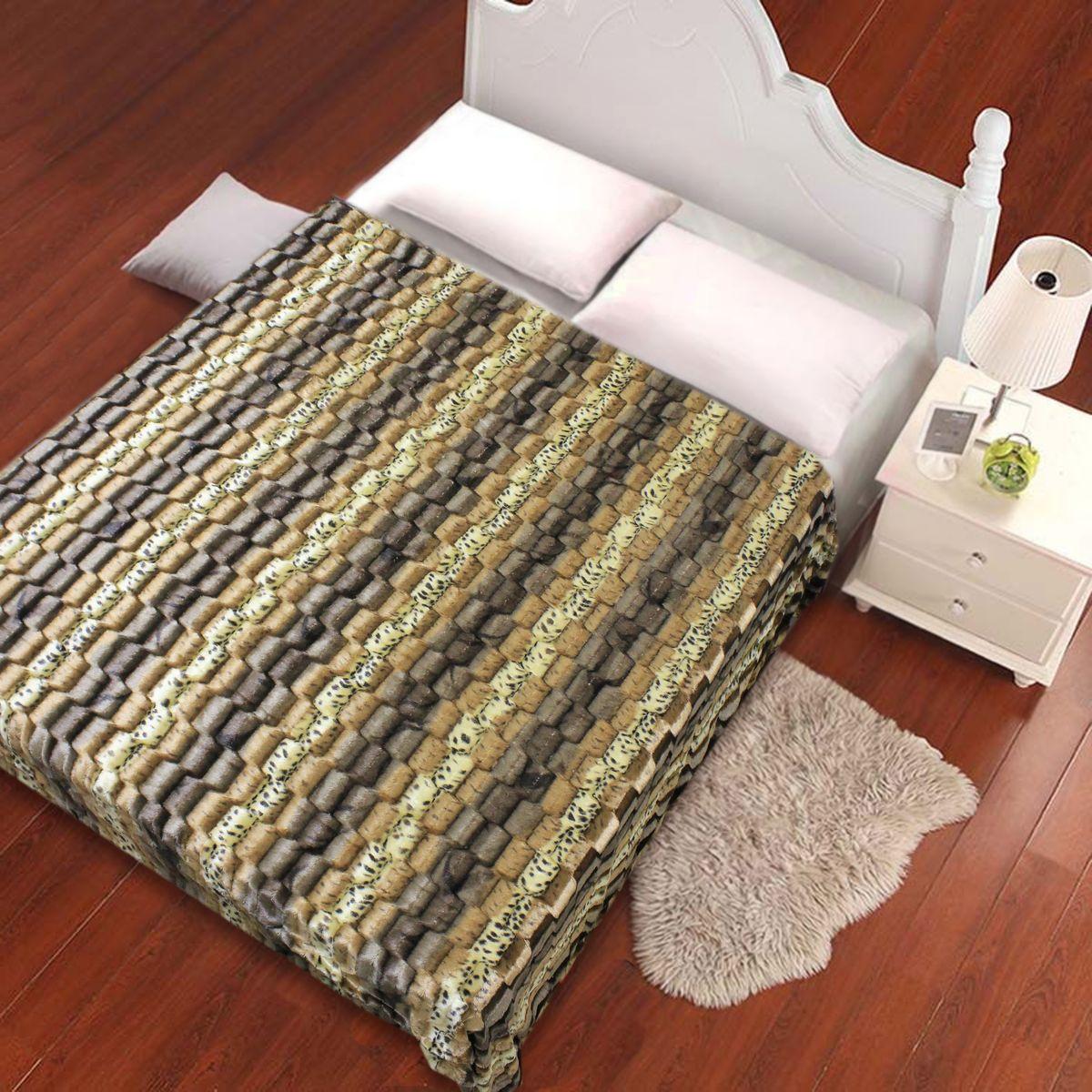 """Плед """"Buenas Noches"""" - идеальное решение для вашего интерьера! Станьте дизайнером и создайте свой стиль! Плед выполнен из 100% полиэстера - уникальная ткань, обладающая рядом неоспоримых  достоинств. Это материал синтетического происхождения из полиэфирных волокон.  Внешне такая ткань схожа с шерстью, а по свойствам близка к хлопку. Изделия из полиэстера - не мнутся и легко стираются. После стирки очень  быстро высыхают. Прочная ткань, за время использования не растягивается и не садится. Высокое качество, а главное - стиль пледа будут  радовать вас и вашу семью!"""