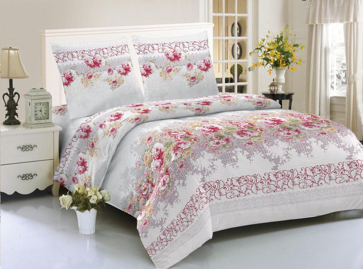 Комплект белья Amore Mio Jurmala, 2-спальный, наволочки 70х70, цвет: серый, розовый85574Комплект постельного белья Amore Mio изготовлен из мако-сатина. Нано-инновации позволили открыть новую ткань, которая сочетает в себе широкий спектр отличных потребительских характеристик и невысокой стоимости. Легкая, плотная, мягкая ткань, приятна и обладает эффектом персиковой кожуры. Отлично стирается, гладится, быстро сохнет. Дисперсное крашение великолепно передает качество рисунков и необычайно устойчиво к истиранию.Комплект состоит из пододеяльника, простыни и двух наволочек.