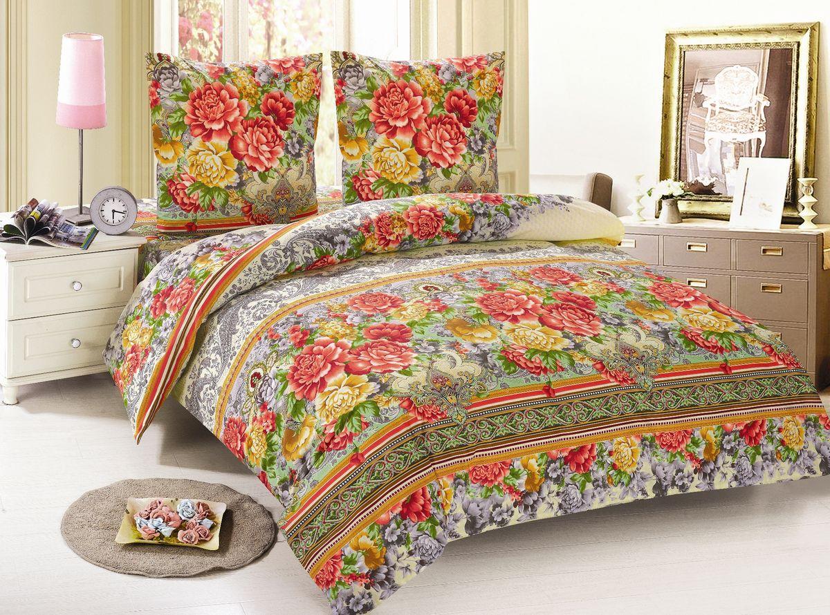 Комплект белья Amore Mio Mio, 2-спальный, наволочки 70х70, цвет: желтый, красный, зеленый85948Постельное белье Amore Mio из поплина - оригинальные дизайны и отменное качество. Ткань - плотная и легкая, яркие рисунки, отменное качество пошива.