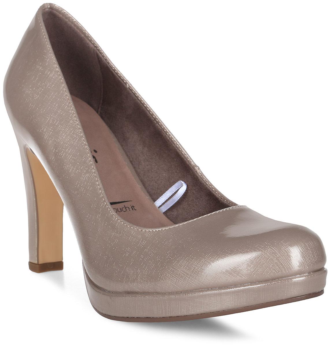 Туфли женские Tamaris, цвет: бежевый. 1-1-22426-29-405/229. Размер 39