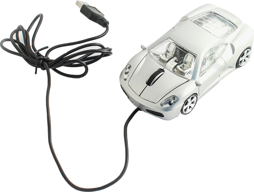 Эврика А30 Автомобиль, Silver мышь94272Проводная оптическая мышь Эврика А30 Автомобиль с подсветкой станет замечательным и приятным подарком любому пользователю современной компьютерной техникой.Мышка подходит как для стационарных устройств, так и для ноутбуков. Обтекаемая форма обеспечивает максимум удобства во время работы. В мышку встроено бесшумное и плавное колесо прокрутки. Благодаря эргономичной форме мышку удобно держать в руке.