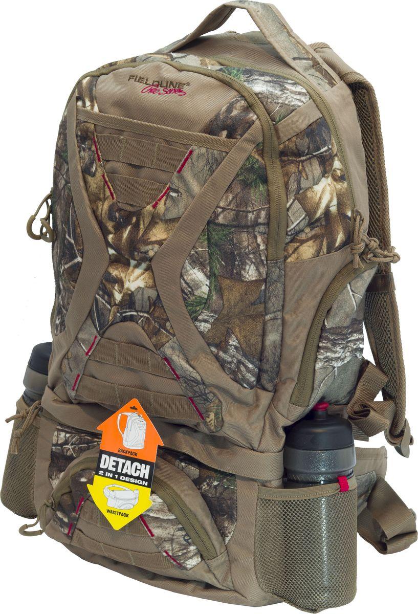 Рюкзак для охоты Fieldline Big Game BackPack, цвет: камуфляж, светло-коричневый