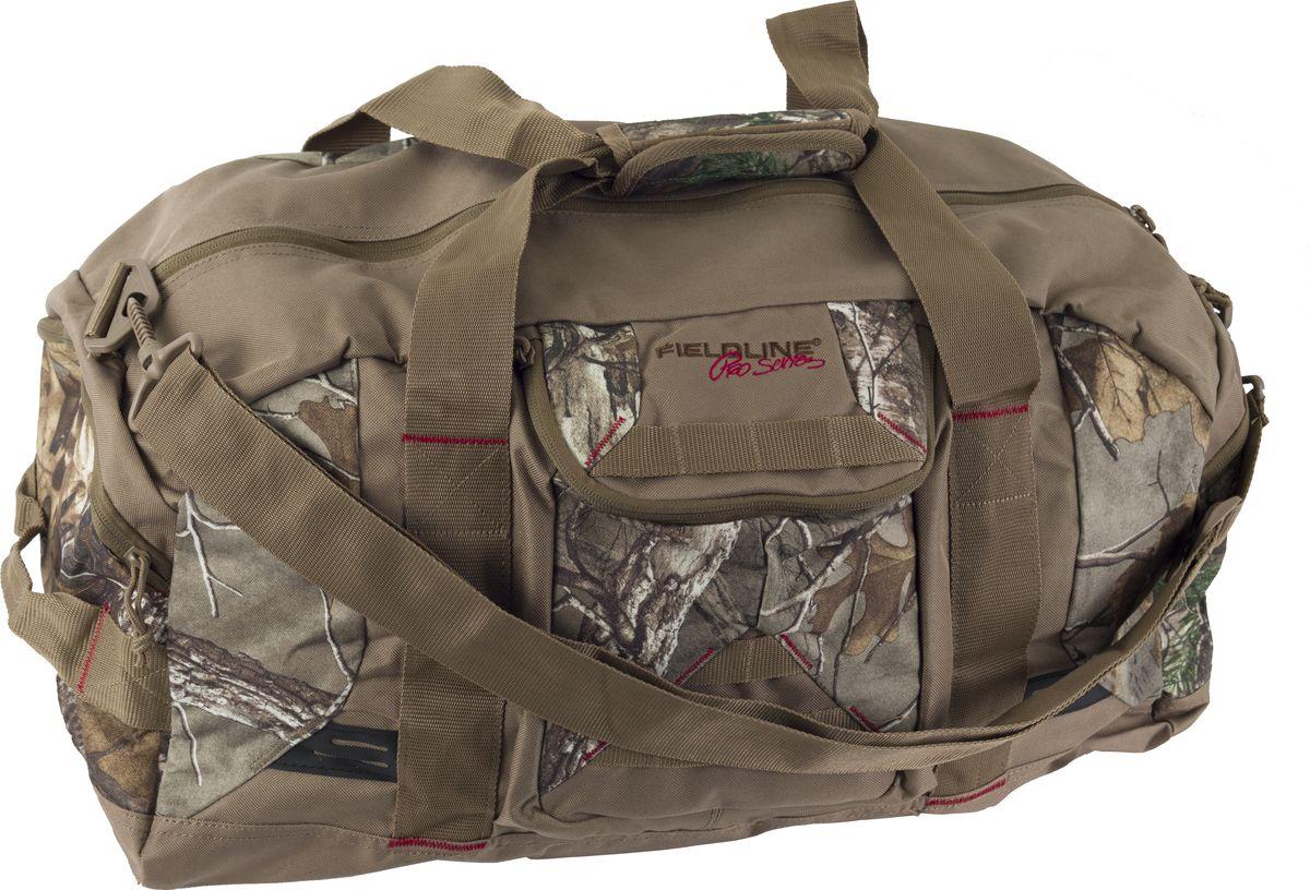 Сумка для охоты Fieldline  X-Large Duffle , цвет: камуфляж, светло-коричневый, 169,9 л - Охота