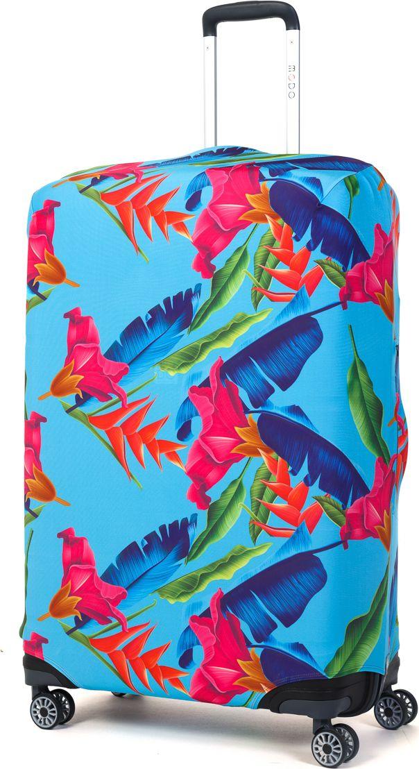 Чехол для чемодана Mettle Askada, размер L (высота чемодана: 75-82 см)LK-21000022Модный универсальный чехол для чемодана METTLE, подходит для больших чемоданов размера L и даже XL (высота: 75-82 см, ширина: 46-54 см,глубина: 29-36 см). Он выполнен из спандекса. Эластичная ткань со специальной UF-водоотталкивающей пропиткой лучше защитит ваш чемодан от грязи и солнечных лучей.Картинка чехла надолго останется яркой и красочной. Две боковые потайные молнии, усиленные дополнительными швами, предохраняютбоковые стороны и ручки чемодана от царапин и легких повреждений. Резинка с удобной соединяющей застёжкой надёжно фиксирует чехол начемодане. Нижняя молния имеет автоматический замок бегунка. В швы багажного чехла дополнительно вшит эластичный жгут для лучшей усадкии фиксации на чемодан. Вся фурнитура изготовлена в фирменном дизайне METTLE. Чехол упакован в функциональный мешочек из аналогичной ткани, который вы сможете использовать для хранения и переноски предметовнебольшого размера.