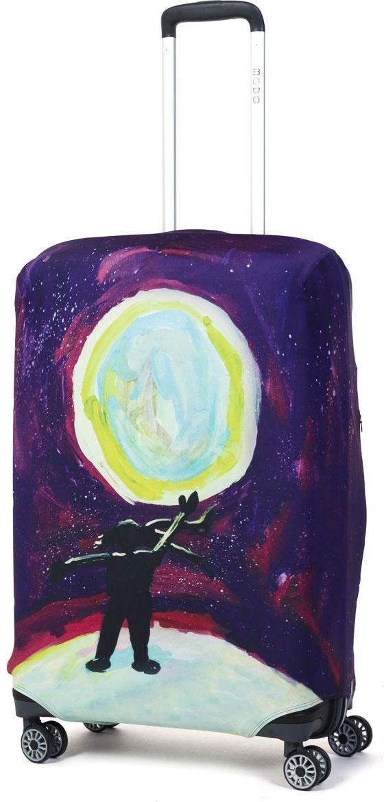 Чехол для чемодана Mettle Serenity, размер M (высота чемодана: 65-75 см)LK-21000027Модный универсальный чехол METTLE подходит для средних чемоданов размера М (высота: 65-75 см, ширина: 40-46 см, глубина: 25-32 см). Он выполнен из спандекса. Эластичная ткань со специальной UF-водоотталкивающей пропиткой лучше защитит ваш чемодан от грязи и солнечных лучей. Картинка чехла надолго останется яркой и красочной. Две боковые потайные молнии, усиленные дополнительными швами, предохраняют боковые стороны и ручки чемодана от царапин и легких повреждений. Резинка с удобной соединяющей застёжкой надёжно фиксирует чехол на чемодане. Нижняя молния имеет автоматический замок бегунка. В швы багажного чехла дополнительно вшит эластичный жгут для лучшей усадки и фиксации на чемодан. Вся фурнитура изготовлена в фирменном дизайне METTLE.Чехол упакован в функциональный мешочек из аналогичной ткани, который вы сможете использовать для хранения и переноски предметов небольшого размера.