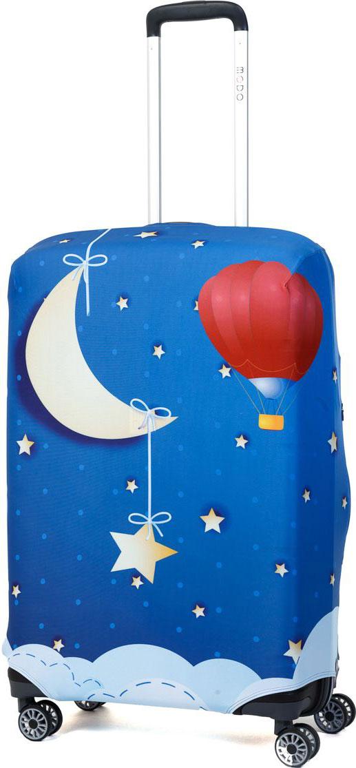 Чехол для чемодана Mettle Good Night, размер M (высота чемодана: 65-75 см)LK-21000036Модный универсальный чехол для чемодана METTLE, подходит для средних чемоданов размера М (высота: 65-75 см, ширина: 40-46 см, глубина: 25-32 см). Он выполнен из спандекса. Эластичная ткань со специальной UF-водоотталкивающей пропиткой лучше защитит ваш чемодан от грязи и солнечных лучей. Картинка чехла надолго останется яркой и красочной. Две боковые потайные молнии, усиленные дополнительными швами, предохраняют боковые стороны и ручки чемодана от царапин и легких повреждений. Резинка с удобной соединяющей застёжкой надёжно фиксирует чехол на чемодане. Нижняя молния имеет автоматический замок бегунка. В швы багажного чехла дополнительно вшит эластичный жгут для лучшей усадки и фиксации на чемодан. Вся фурнитура изготовлена в фирменном дизайне METTLE.Чехол упакован в функциональный мешочек из аналогичной ткани, который вы сможете использовать для хранения и переноски предметов небольшого размера.