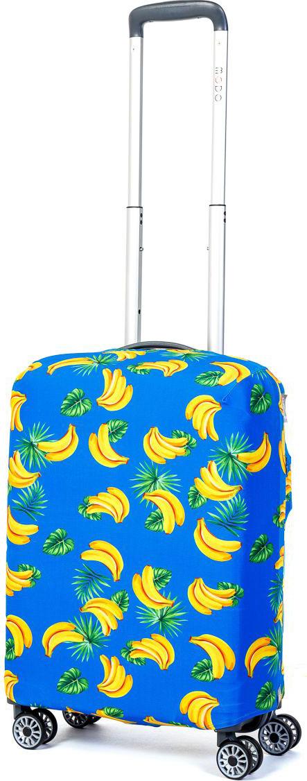 Чехол для чемодана Mettle Banana, размер S (высота чемодана: 50-55 см)LK-21000038Модный универсальный чехол METTLE подходит для чемоданов ручной клади размера S (высота: 50-55 см, ширина: 35-40 см, глубина: 20-25 см). Он выполнен из спандекса. Эластичная ткань со специальной UF-водоотталкивающей пропиткой лучше защитит ваш чемодан от грязи и солнечных лучей. Картинка чехла надолго останется яркой и красочной. Две боковые потайные молнии, усиленные дополнительными швами, предохраняют боковые стороны и ручки чемодана от царапин и легких повреждений. Резинка с удобной соединяющей застёжкой надёжно фиксирует чехол на чемодане. Нижняя молния имеет автоматический замок бегунка. В швы багажного чехла дополнительно вшит эластичный жгут для лучшей усадки и фиксации на чемодан. Вся фурнитура изготовлена в фирменном дизайне METTLE.Чехол упакован в функциональный мешочек из аналогичной ткани, который вы сможете использовать для хранения и переноски предметов небольшого размера.