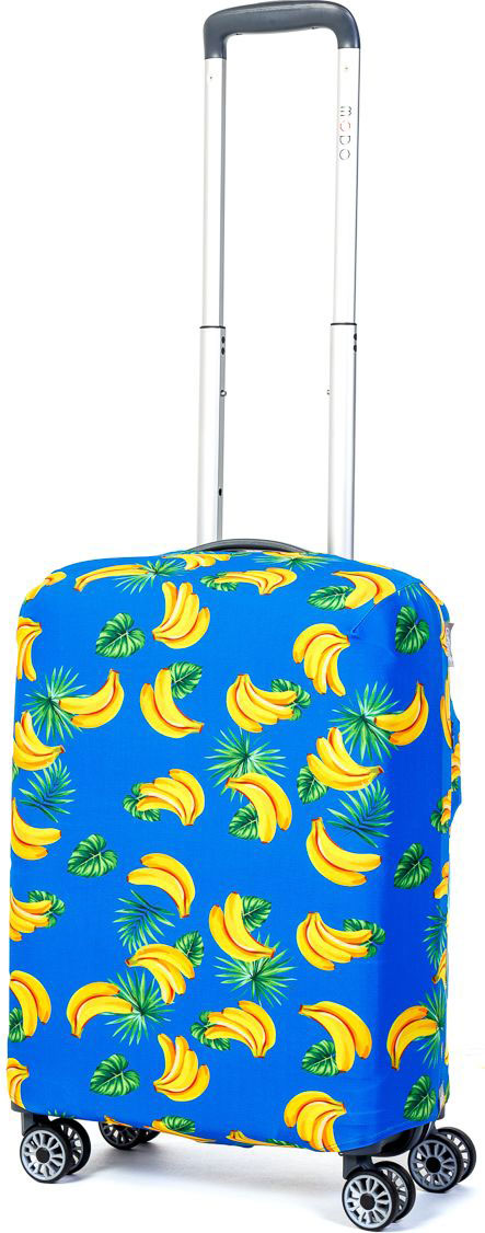 Чехол для чемодана Mettle  Banana , размер S (высота чемодана: 50-55 см) - Чемоданы и аксессуары