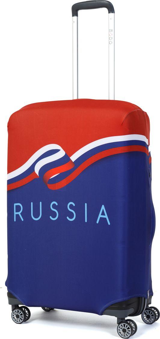 Чехол для чемодана Mettle Russia, размер M (высота чемодана: 65-75 см)LK-21000042Модный универсальный чехол METTLE подходит для средних чемоданов размера М (высота: 65-75 см, ширина: 40-46 см, глубина:25-32 см). Он выполнен из спандекса. Эластичная ткань со специальной UF-водоотталкивающей пропиткой лучше защитит ваш чемодан от грязи исолнечных лучей.Картинка чехла надолго останется яркой и красочной. Две боковые потайные молнии, усиленные дополнительными швами, предохраняютбоковые стороны и ручки чемодана от царапин и легких повреждений. Резинка с удобной соединяющей застёжкой надёжно фиксирует чехол начемодане. Нижняя молния имеет автоматический замок бегунка. В швы багажного чехла дополнительно вшит эластичный жгут для лучшей усадкии фиксации на чемодан. Вся фурнитура изготовлена в фирменном дизайне METTLE. Чехол упакован в функциональный мешочек из аналогичной ткани, который вы сможете использовать для хранения и переноски предметовнебольшого размера.