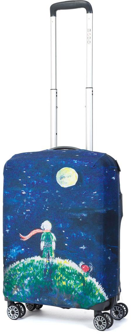 "Чехол для чемодана Mettle ""Little Prince"", размер S (высота чемодана: 50-55 см), ТМ Mettle"