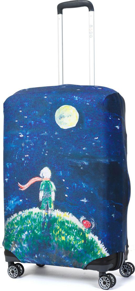 Чехол для чемодана Mettle Little Prince, размер M (высота чемодана: 65-75 см)LK-21000051Модный универсальный чехол для чемодана METTLE, подходит для средних чемоданов размера М (высота: 65-75 см, ширина: 40-46 см, глубина:25-32 см). Он выполнен из спандекса. Эластичная ткань со специальной UF-водоотталкивающей пропиткой лучше защитит ваш чемодан от грязи исолнечных лучей.Картинка чехла надолго останется яркой и красочной. Две боковые потайные молнии, усиленные дополнительными швами, предохраняютбоковые стороны и ручки чемодана от царапин и легких повреждений. Резинка с удобной соединяющей застёжкой надёжно фиксирует чехол начемодане. Нижняя молния имеет автоматический замок бегунка. В швы багажного чехла дополнительно вшит эластичный жгут для лучшей усадкии фиксации на чемодан. Вся фурнитура изготовлена в фирменном дизайне METTLE. Чехол упакован в функциональный мешочек из аналогичной ткани, который вы сможете использовать для хранения и переноски предметовнебольшого размера.