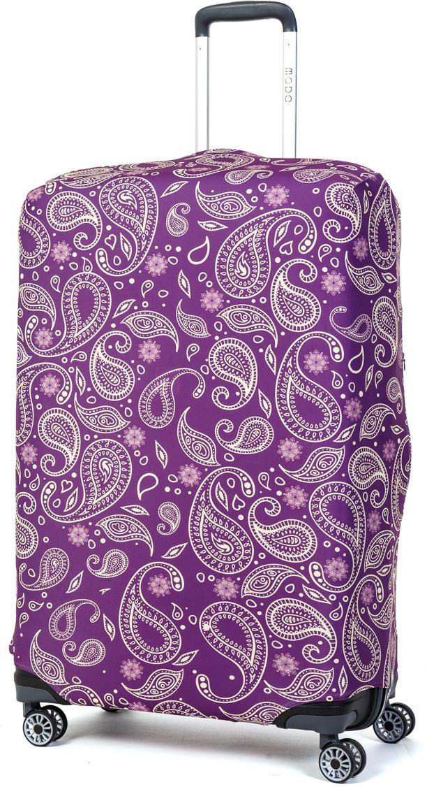 Чехол для чемодана Mettle Teness, размер L (высота чемодана: 75-82 см)LK-21000055Модный универсальный чехол для чемодана METTLE, подходит для больших чемоданов размера L и даже XL (высота: 75-82 см, ширина: 46-54 см, глубина: 29-36 см). Он выполнен из спандекса. Эластичная ткань со специальной UF-водоотталкивающей пропиткой лучше защитит ваш чемодан от грязи и солнечных лучей. Картинка чехла надолго останется яркой и красочной. Две боковые потайные молнии, усиленные дополнительными швами, предохраняют боковые стороны и ручки чемодана от царапин и легких повреждений. Резинка с удобной соединяющей застёжкой надёжно фиксирует чехол на чемодане. Нижняя молния имеет автоматический замок бегунка. В швы багажного чехла дополнительно вшит эластичный жгут для лучшей усадки и фиксации на чемодан. Вся фурнитура изготовлена в фирменном дизайне METTLE.Чехол упакован в функциональный мешочек из аналогичной ткани, который вы сможете использовать для хранения и переноски предметов небольшого размера.