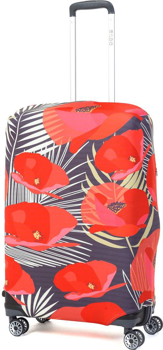 Чехол для чемодана Mettle Flowers, размер M (высота чемодана: 65-75 см)LK-21000060Модный универсальный чехол для чемодана METTLE, подходит для средних чемоданов размера М (высота: 65-75 см, ширина: 40-46 см, глубина: 25-32 см). Он выполнен из спандекса. Эластичная ткань со специальной UF-водоотталкивающей пропиткой лучше защитит ваш чемодан от грязи и солнечных лучей. Картинка чехла надолго останется яркой и красочной. Две боковые потайные молнии, усиленные дополнительными швами, предохраняют боковые стороны и ручки чемодана от царапин и легких повреждений. Резинка с удобной соединяющей застёжкой надёжно фиксирует чехол на чемодане. Нижняя молния имеет автоматический замок бегунка. В швы багажного чехла дополнительно вшит эластичный жгут для лучшей усадки и фиксации на чемодан. Вся фурнитура изготовлена в фирменном дизайне METTLE.Чехол упакован в функциональный мешочек из аналогичной ткани, который вы сможете использовать для хранения и переноски предметов небольшого размера.