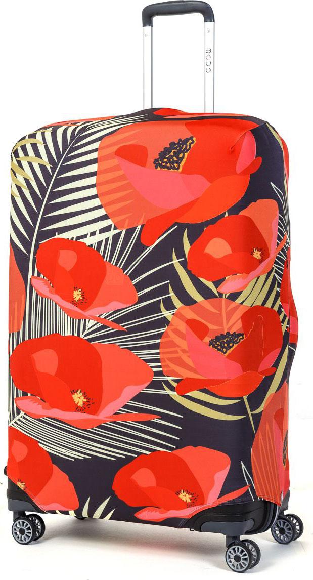 Чехол для чемодана Mettle Flowers, размер L (высота чемодана: 75-82 см)LK-21000061Модный универсальный чехол для чемодана METTLE, подходит для больших чемоданов размера L и даже XL (высота: 75-82 см, ширина: 46-54 см, глубина: 29-36 см). Он выполнен из спандекса. Эластичная ткань со специальной UF-водоотталкивающей пропиткой лучше защитит ваш чемодан от грязи и солнечных лучей. Картинка чехла надолго останется яркой и красочной. Две боковые потайные молнии, усиленные дополнительными швами, предохраняют боковые стороны и ручки чемодана от царапин и легких повреждений. Резинка с удобной соединяющей застёжкой надёжно фиксирует чехол на чемодане. Нижняя молния имеет автоматический замок бегунка. В швы багажного чехла дополнительно вшит эластичный жгут для лучшей усадки и фиксации на чемодан. Вся фурнитура изготовлена в фирменном дизайне METTLE.Чехол упакован в функциональный мешочек из аналогичной ткани, который вы сможете использовать для хранения и переноски предметов небольшого размера.