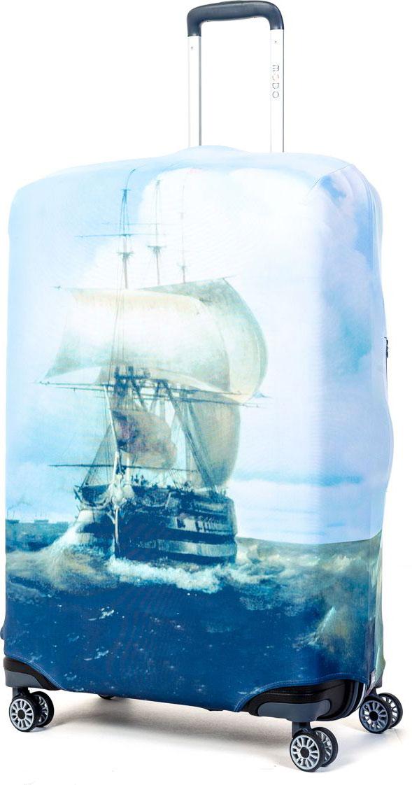 Чехол для чемодана Mettle Harbour, размер L (высота чемодана: 75-82 см)LK-21000064Модный универсальный чехол для чемодана METTLE, подходит для больших чемоданов размера L и даже XL (высота: 75-82 см, ширина: 46-54 см, глубина: 29-36 см). Он выполнен из спандекса. Эластичная ткань со специальной UF-водоотталкивающей пропиткой лучше защитит ваш чемодан от грязи и солнечных лучей. Картинка чехла надолго останется яркой и красочной. Две боковые потайные молнии, усиленные дополнительными швами, предохраняют боковые стороны и ручки чемодана от царапин и легких повреждений. Резинка с удобной соединяющей застёжкой надёжно фиксирует чехол на чемодане. Нижняя молния имеет автоматический замок бегунка. В швы багажного чехла дополнительно вшит эластичный жгут для лучшей усадки и фиксации на чемодан. Вся фурнитура изготовлена в фирменном дизайне METTLE.Чехол упакован в функциональный мешочек из аналогичной ткани, который вы сможете использовать для хранения и переноски предметов небольшого размера.