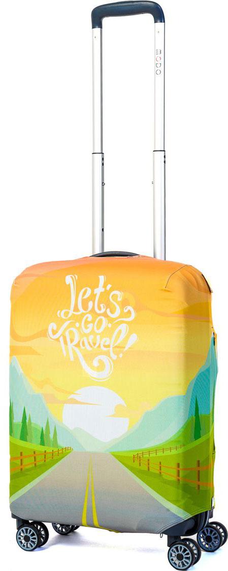 Чехол для чемодана Mettle Lets Go Travel, размер S (высота чемодана: 50-55 см)