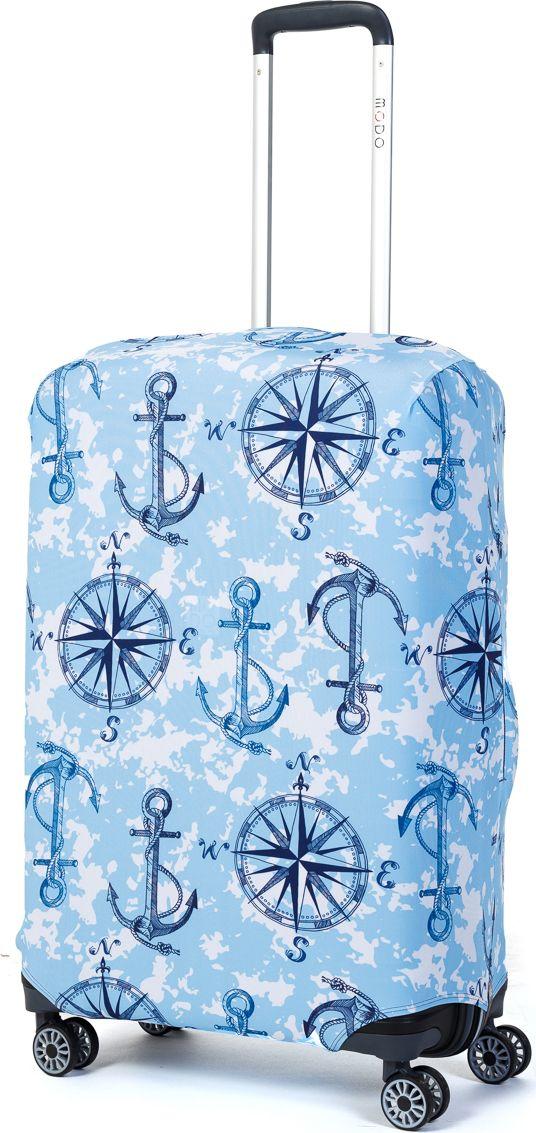 Чехол для чемодана Mettle Sea Ankor, размер M (высота чемодана: 65-75 см)LK-21000075Модный универсальный чехол METTLE подходит для средних чемоданов размера М (высота: 65-75 см, ширина: 40-46 см, глубина: 25-32 см). Он выполнен из спандекса. Эластичная ткань со специальной UF-водоотталкивающей пропиткой лучше защитит ваш чемодан от грязи и солнечных лучей. Картинка чехла надолго останется яркой и красочной. Две боковые потайные молнии, усиленные дополнительными швами, предохраняют боковые стороны и ручки чемодана от царапин и легких повреждений. Резинка с удобной соединяющей застёжкой надёжно фиксирует чехол на чемодане. Нижняя молния имеет автоматический замок бегунка. В швы багажного чехла дополнительно вшит эластичный жгут для лучшей усадки и фиксации на чемодан. Вся фурнитура изготовлена в фирменном дизайне METTLE.Чехол упакован в функциональный мешочек из аналогичной ткани, который вы сможете использовать для хранения и переноски предметов небольшого размера.