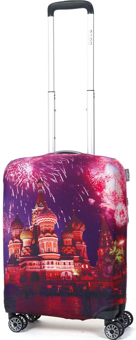 Чехол для чемодана Mettle  Moscow , размер S (высота чемодана: 50-55 см) - Чемоданы и аксессуары