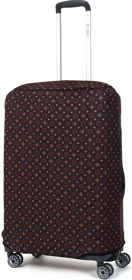 Чехол для чемодана Mettle Veto, цвет: коричневый. Размер M (высота чемодана: 70-75 см)