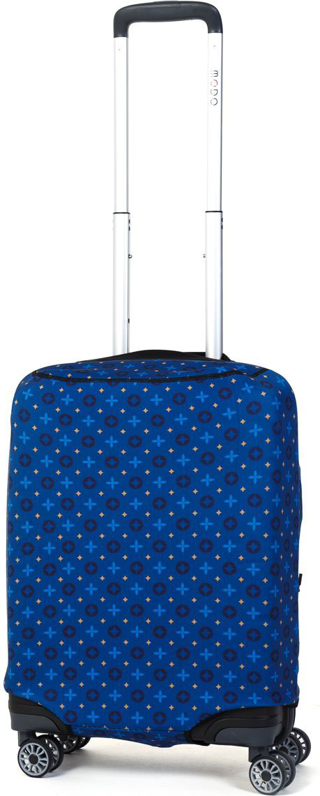 Чехол для чемодана Mettle Blue, цвет: синий. Размер S (высота чемодана: до 60 см)NP-00000107Премиальный чехол для маленького чемодана размера S (высота до 60 см) от компании Mettle изготовлен из прочного ударопоглощающего, водоотталкивающего материала толщиной 2,5 мм – трехслойная конструкция (первый слой - одноцветный полиэстер, второй слой - неопрен, третий наружный слой – спандекс). Основной слой состоит из неопрена – современный, водонепроницаемый, пористый, резиновый материал. Данный материал используют при производстве костюмов для водолазов и во многих других областях. При пошиве чехла применяется особо прочный двойной шов Flatlock. Нижняя молния чехла оснащена автоматическим замком бегунка. В чехле имеются две боковые водонепроницаемые молнии. Вырез под верхнюю ручку чемодана прикрыт эластичной тканью.Данная модель обладает максимальной степенью защиты среди всех чехлов для чемоданов. Строгий и лаконичный дизайн. Mettle - путешествуйте с характером!