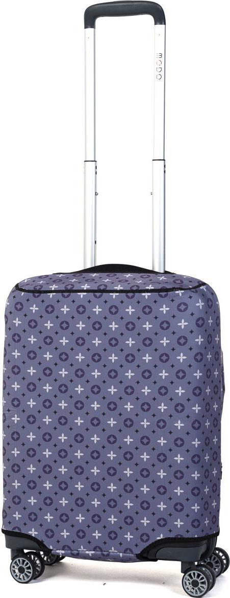 Чехол для чемодана Mettle Grayish, цвет: серый. Размер S (высота чемодана: до 60 см)