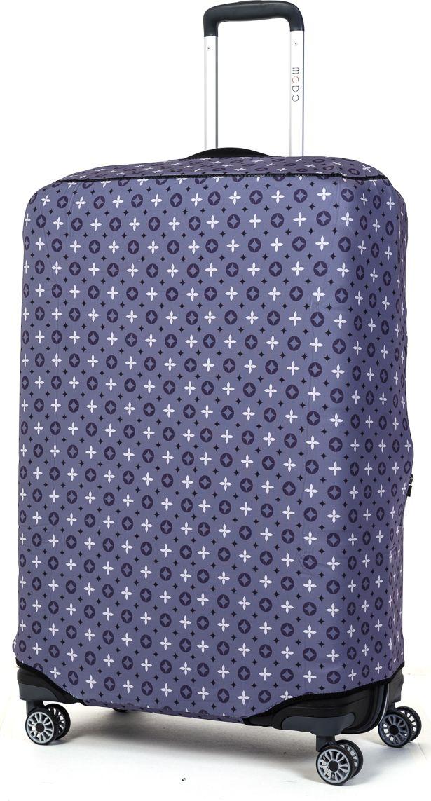 Чехол для чемодана Mettle Grayish, цвет: серый. Размер L (высота чемодана: 80-85 см)NP-00000127Премиальный чехол для большого чемодана размера L (высота 80-85 см) от компании Mettle изготовлен из прочного ударопоглощающего, водоотталкивающего материала толщиной 2,5 мм – трехслойная конструкция (первый слой - одноцветный полиэстер, второй слой - неопрен, третий наружный слой – спандекс). Основной слой состоит из неопрена – современный, водонепроницаемый, пористый, резиновый материал. Данный материал используют при производстве костюмов для водолазов и во многих других областях. При пошиве чехла применяется особо прочный двойной шов Flatlock. Нижняя молния чехла оснащена автоматическим замком бегунка. В чехле имеются две боковые водонепроницаемые молнии. Вырез под верхнюю ручку чемодана прикрыт эластичной тканью.Данная модель обладает максимальной степенью защиты среди всех чехлов для чемоданов. Строгий и лаконичный дизайн. Mettle - путешествуйте с характером!