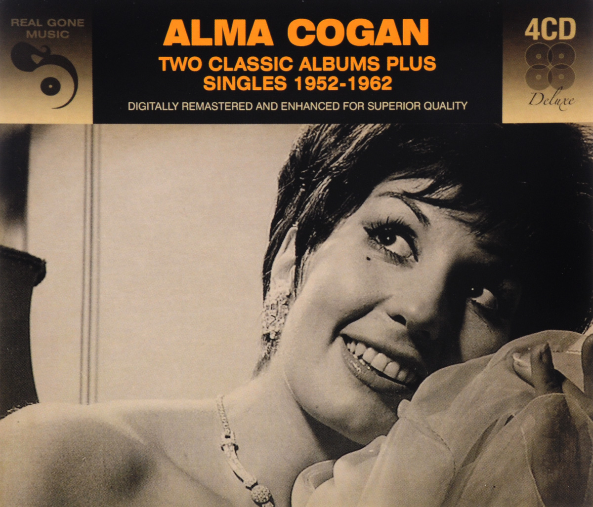 Альма Коган Alma Cogan. 2 Classic Albums Plus Singles 1952-62 (4 CD) sun records 9 classic albums 4 cd