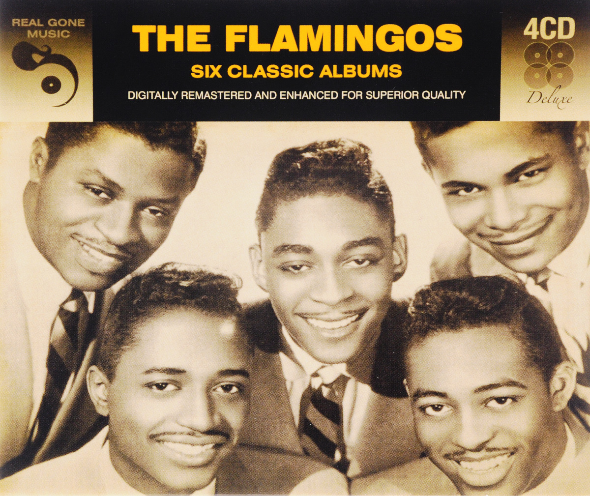 The Flamingos The Flamingos. 6 Classics Albums (4 CD) roxy music roxy music the studio albums limited edition 8 lp