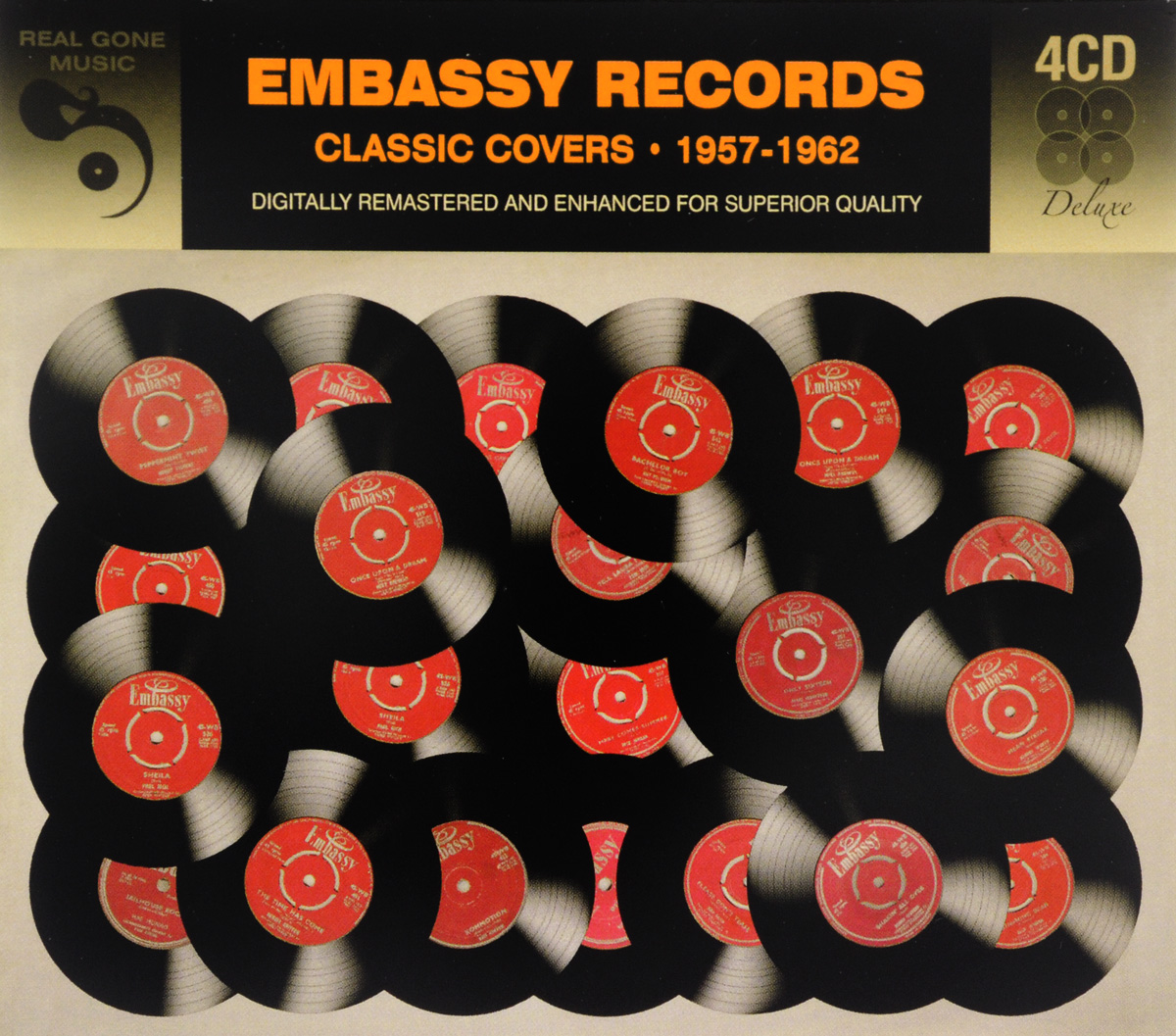 Zakazat.ru Embassy Records. Classic Covers. 1957-1962 (4 CD)