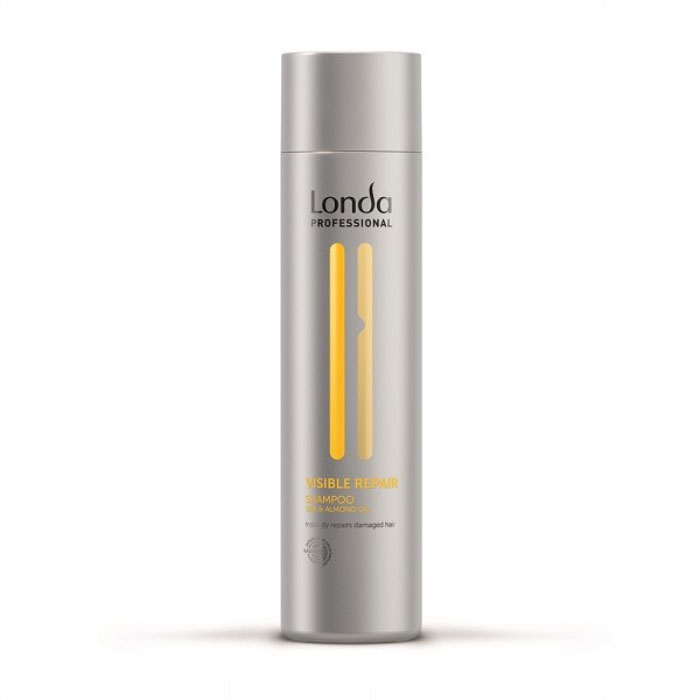 Шампунь Londa Visible Repair, для поврежденных волос, 250 мл0990-81524958Шампунь Londa Visible Repair предназначен специально для поврежденных, пористых волос и волос, подвергшихся химическому воздействию. Шампунь этой линии мгновенно восстанавливает и питает поврежденные волосы, мягко очищая их. Придает волосам мягкость и блеск, выравнивая их структуру. Характеристики:Объем: 250 мл. Производитель: Германия. Товар сертифицирован.