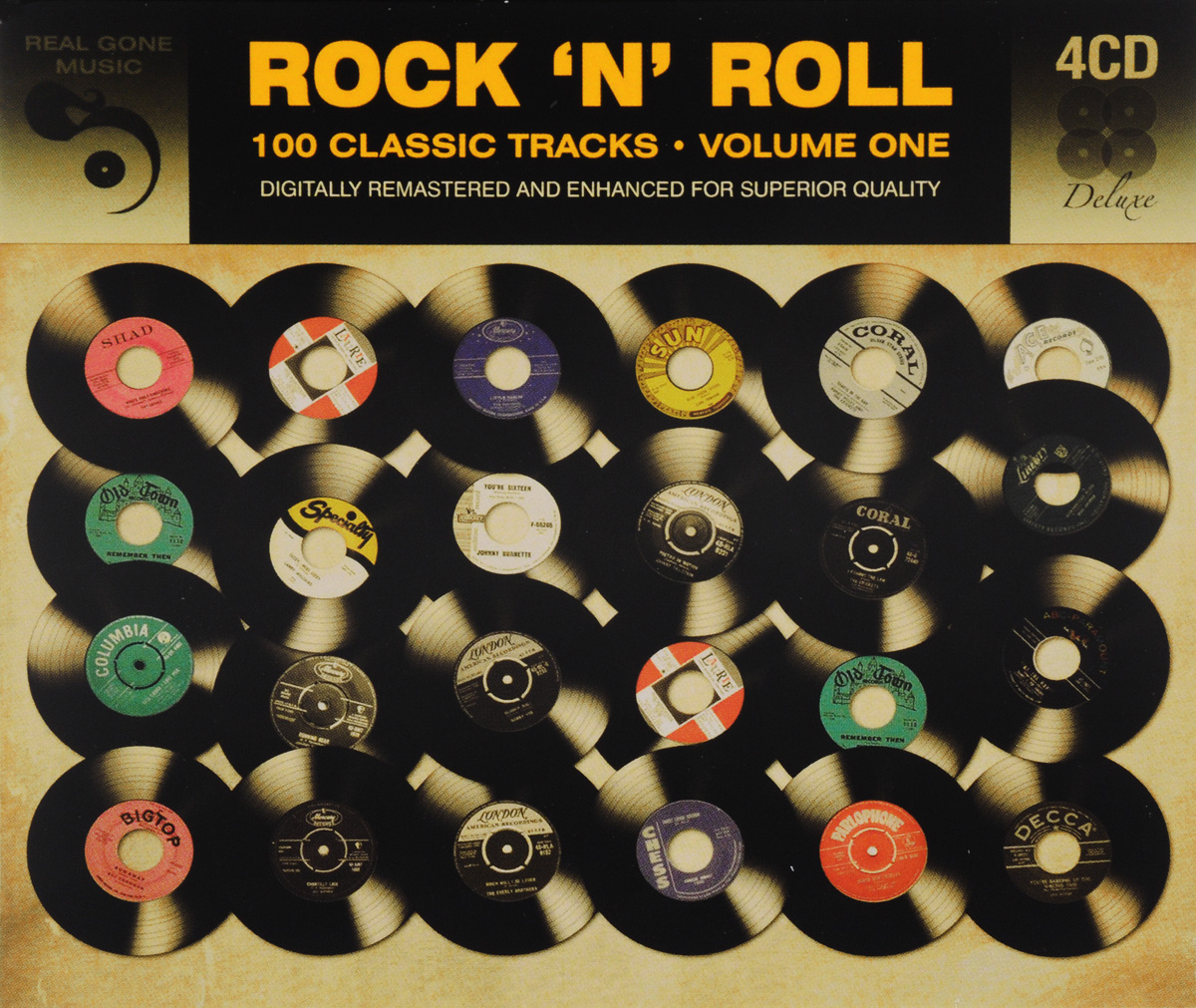 Rock'N'Roll. 100 Classic Tracks. Volume 1 (4 CD)