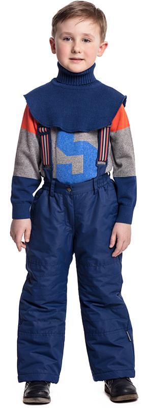 Манишка для мальчика PlayToday, цвет: темно-синий. 371079. Размер 52 кофта для мальчика playtoday цвет синий темно синий 361060 размер 104