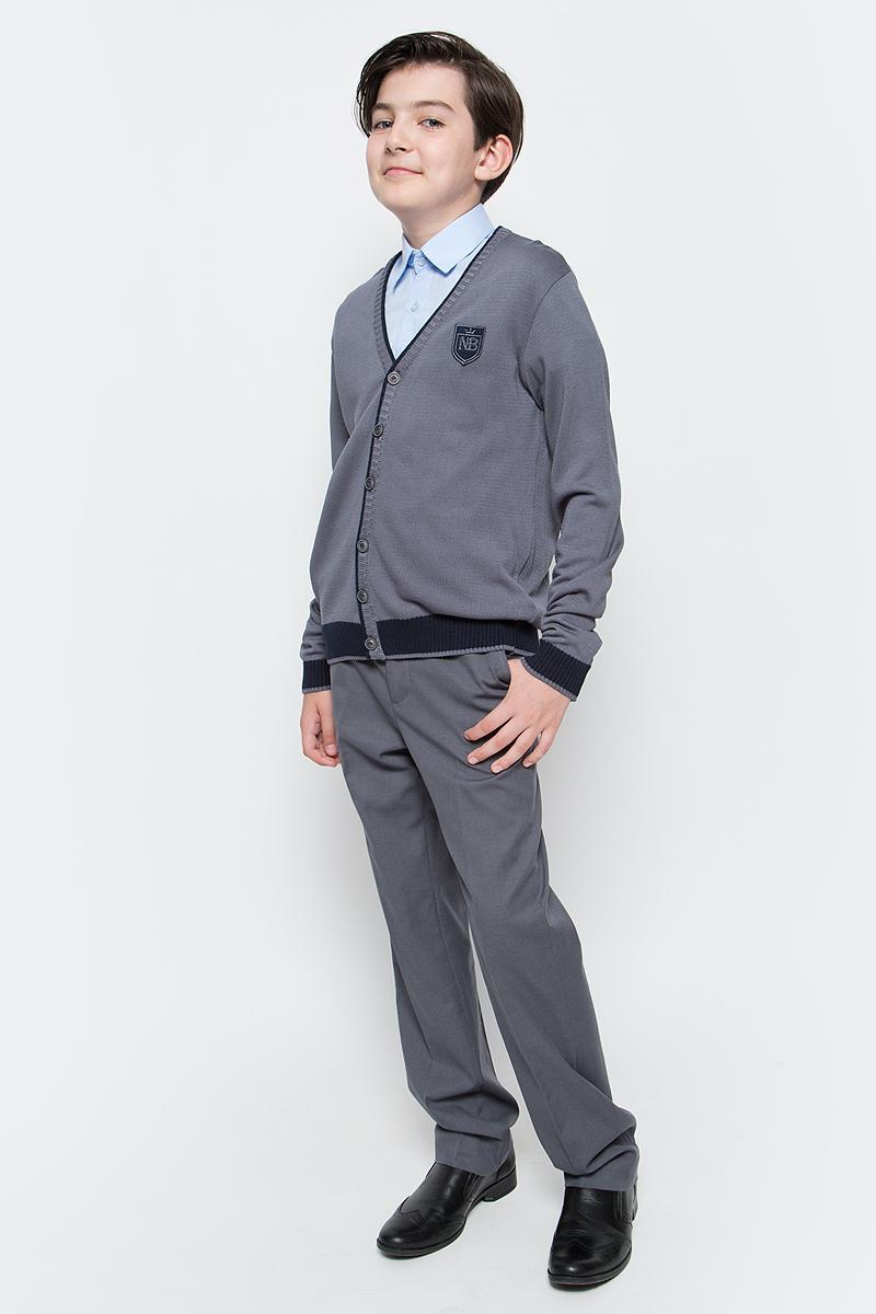 Кардиган для мальчика Nota Bene, цвет: серый. CYC16002B. Рост 152 кардиган nota bene nota bene no030egbxqq3