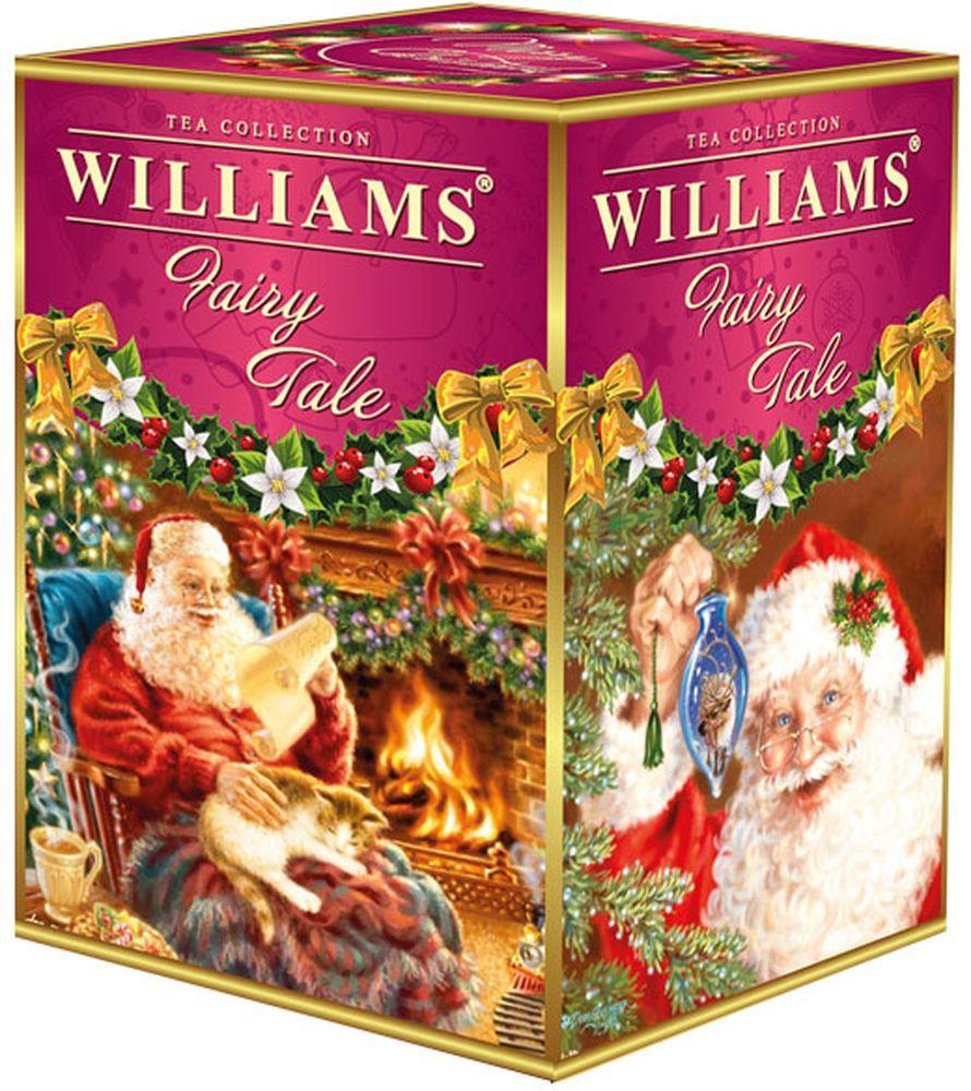 WILLIAMS Fairy Tale Черный крупнолистовой цейлонский чай с ароматом саусепа, 125 г williams kate becoming queen