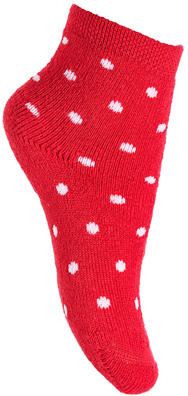 Носки для девочки PlayToday, цвет: красный, белый. 378823. Размер 11378823Махровые носки PlayToday очень мягкие, выполненные, из натуральных материалов, приятные к телу и не сковывают движений. Хорошо пропускают воздух, тем самым позволяя коже дышать. Даже частые стирки, при условии соблюдений рекомендаций по уходу, не изменят ни форму, ни цвет изделия. Мягкая резинка не сдавливает нежную детскую кожу.