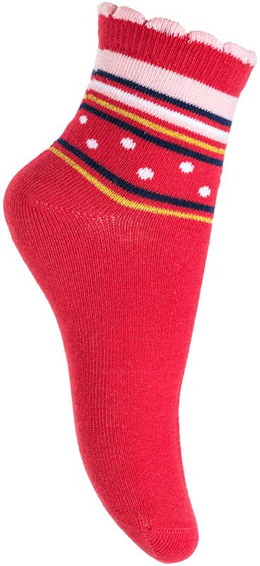 Носки для девочки PlayToday, цвет: красный. 376006. Размер 14 носки для девочки playtoday цвет розовый 2 пары 172041 размер 14
