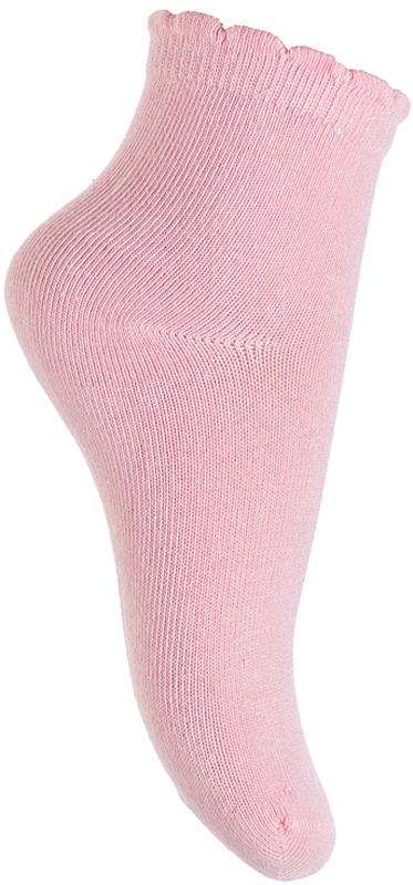 Носки для девочки PlayToday, цвет: розовый. 376007. Размер 14 носки для девочки playtoday цвет розовый 2 пары 172041 размер 14