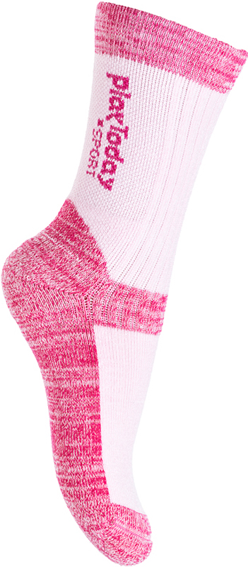 Носки для девочки PlayToday, цвет: розовый, светло-розовый. 379025. Размер 16 носки для девочки playtoday цвет розовый 2 пары 172041 размер 14