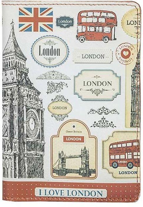 Бумажник водителя женский Fabula London, цвет: белый. BV.77.SPНатуральная кожаБумажник для водителя из коллекции London выполнен из натуральной кожи. На внутреннем развороте 2 кармана из прозрачного пластика, блок для водительских документов из прозрачного пластика (6 карманов). Такой бумажник станет отличным подарком для человека, который ценит качественные и практичные вещи.
