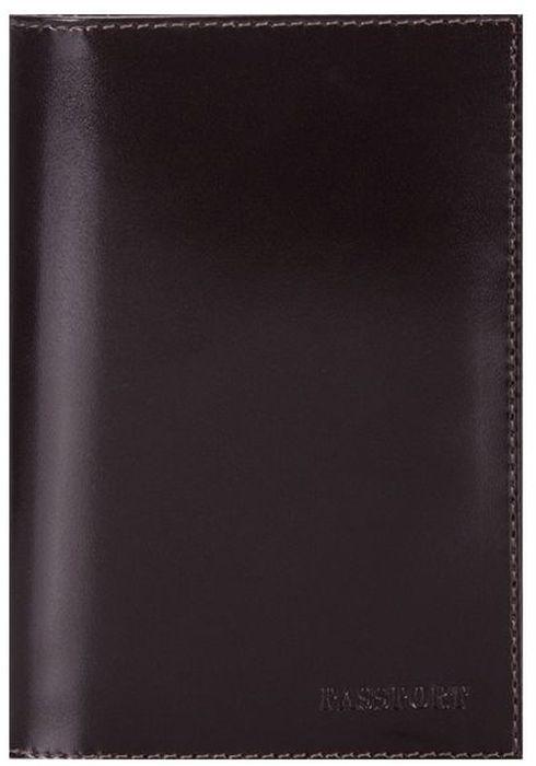 """Фото Обложка для паспорта женская Fabula """"Classic"""", цвет: коричневый. O.1.SH"""