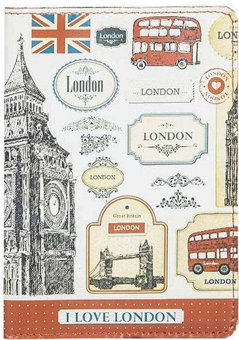 Обложка для паспорта женская Fabula London, цвет: белый. O.85.SPO.85.SP.London.белыйОбложка для паспорта из коллекции London выполнена из натуральной кожи. На внутреннем развороте два кармана из прозрачного пластика с выемкой.