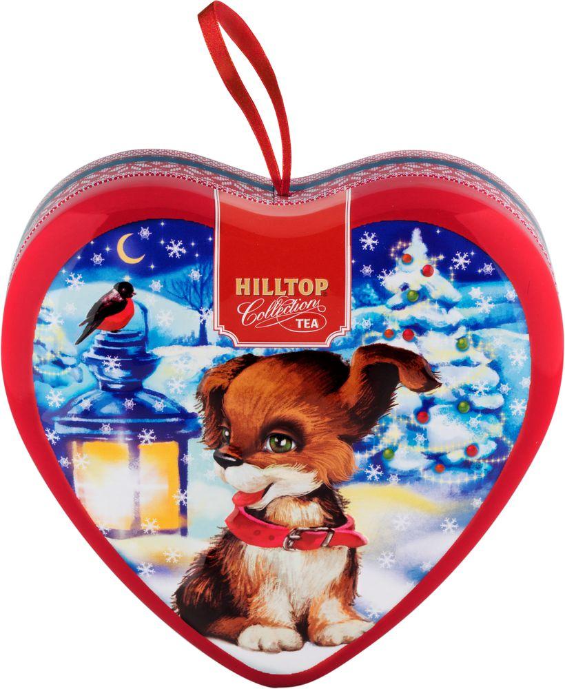 Hilltop Игривый щенок чай черный листовой Земляника со сливками, 50 г4607099308671_НГ