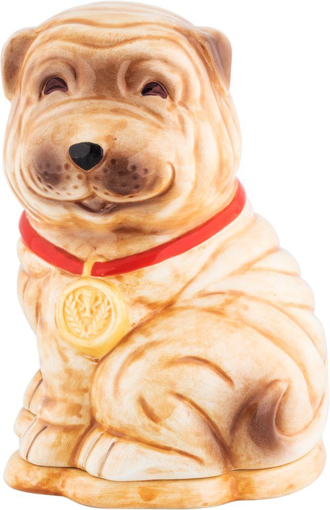Hilltop Собака шарпей чай черный листовой подарок Цейлона, 50 г4607099308770_НГ
