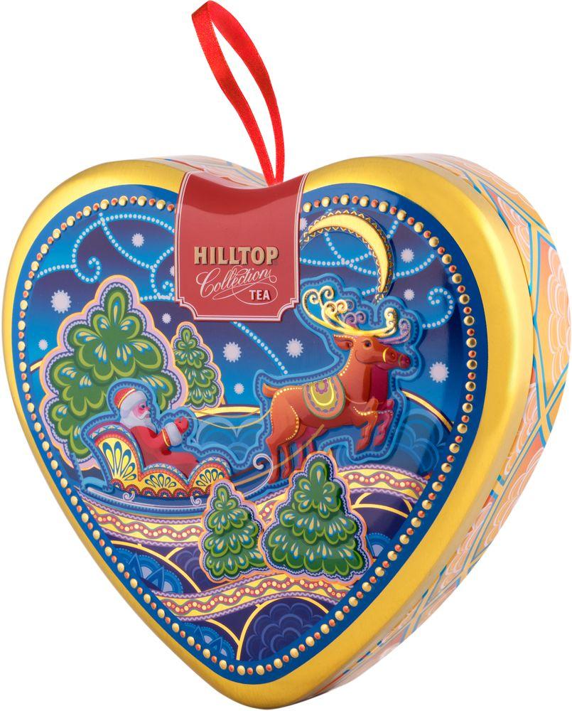 Hilltop Зимняя ночь чай черный листовой, 50 г4607099308190_НГ