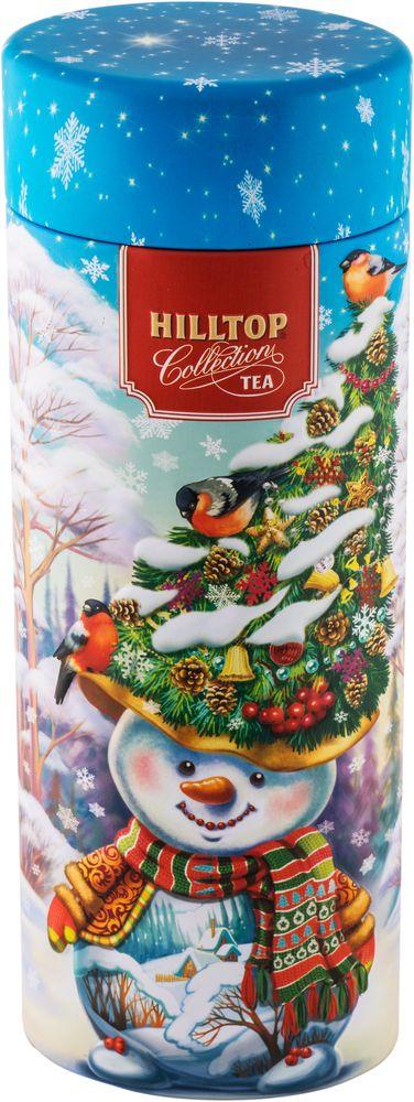 Hilltop Снеговик-лесовик чай черный листовой, 100 г greenfield чай greenfield классик брекфаст листовой черный 100г