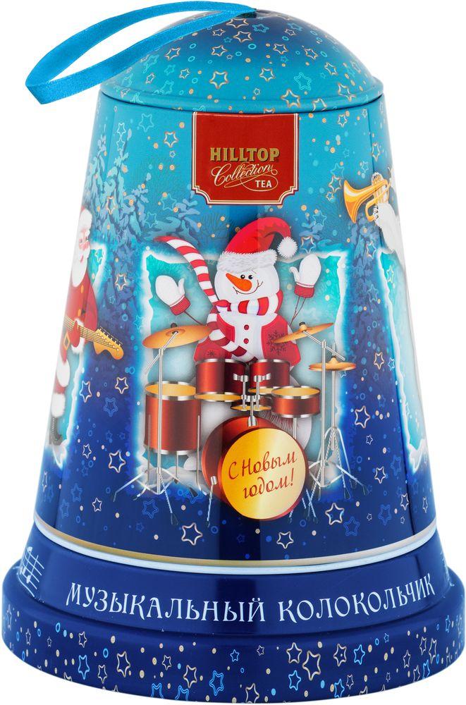 Hilltop Новогодний концерт чай черный листовой Эрл Грей, 100 г4607099308398_НГ