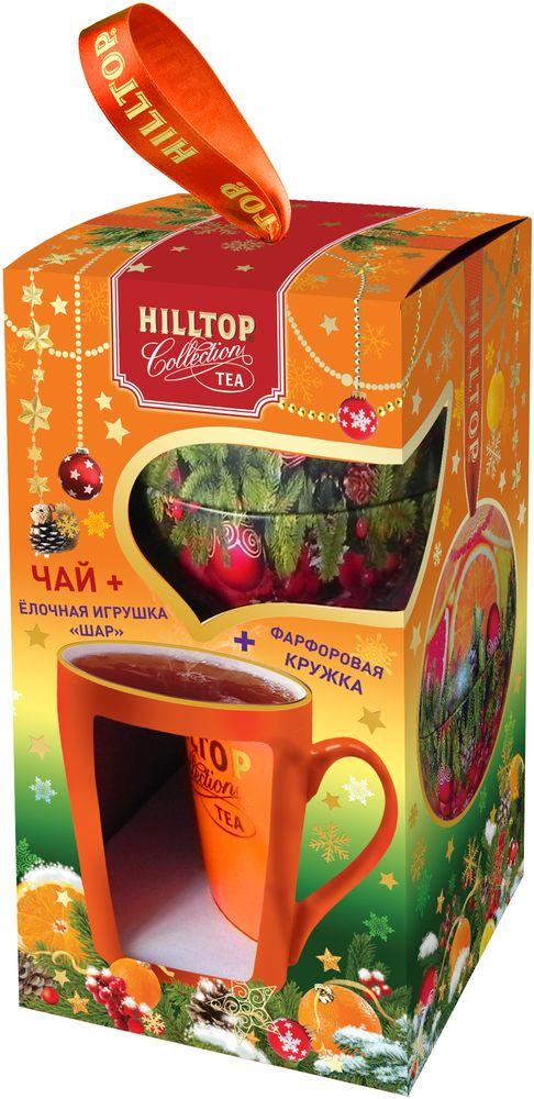 Hilltop Набор Сочный апельсин чай черный листовой с кружкой, 80 г4607099308459_НГ